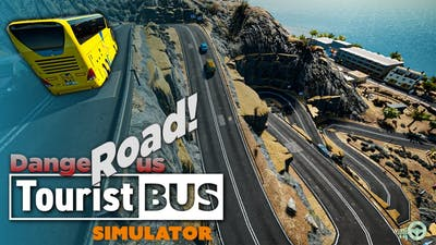 Dangerous Mountain Road! | Thrustmaster T300RS - Tourist Bus Simulator Gameplay