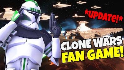 NEW Clone Wars Fan Game's Big UPDATE! - Star Wars: Redemption Gameplay