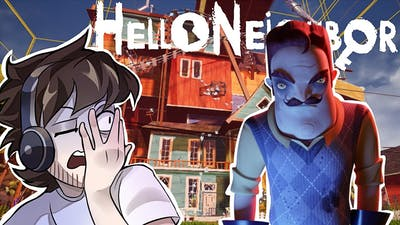 the worst horror game I've EVER played... | Hello Neighbor