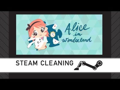 Steam Cleaning - Alice in Wonderland - a jigsaw puzzle tale