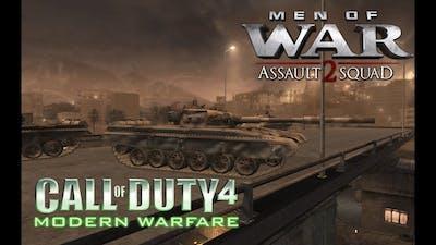 THE BOG - T-72s RUSH ATTACK (Men of War - Assault Squad 2 | CoD WW3)