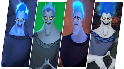 Hades Evolution in Games - Disney - Hercules