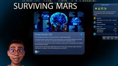 Encountering a Sterling Generator Fault on Mars; GAMING