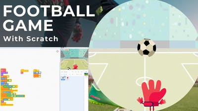 EASY FOOTBALL GAME with SCRATCH || Scratch Tutorial