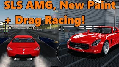 Car Mechanic Simulator 2015 | SLS AMG NEW PAINT + Handling and Drag Race! Total Modification DLC
