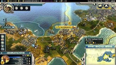 Let's Play Civilization 5 HD Part 42 - unser Vorteil