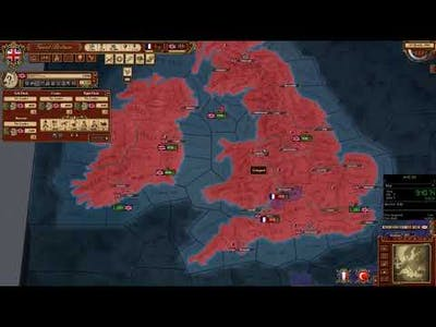 March of the Eagles Speedrun (RTA) - Great Britain Major Victory in 20:46