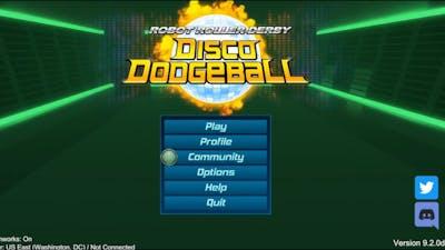Robot Roller Derby Disco Dodgeball