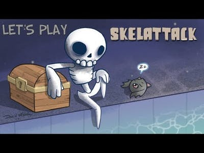 Let's Play: Skelattack pt 1 (I LOVE THIS GAME!!!)