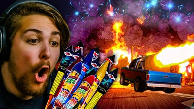 I BROKE REALITY    Fireworks Mania - An Explosive Simulator