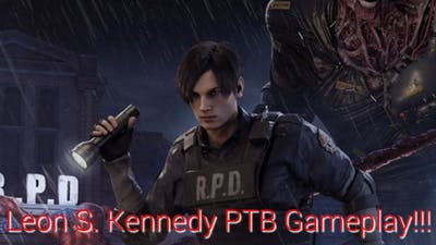 Dead By Daylight : Resident Evil Chapter PTB : Leon S. Kennedy Gameplay!!!