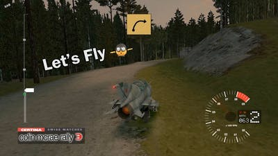 Let's fly?✈️😅 | Jet Fighter | Secret vehicles | Colin McRae Rally 3