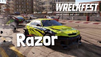 Wreckfest - Razor Gameplay - Hillstreet Circuit - NEW