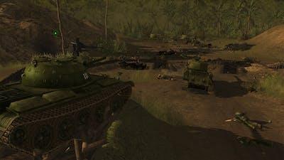 Men of War Vietnam - NV campaign walkthrough - Mission 4 - Gatecrashers 1/2