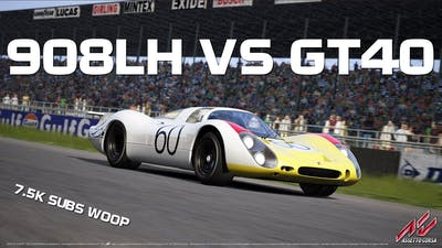 Assetto Corsa - Porsche Pack #3: 908LH vs GT40