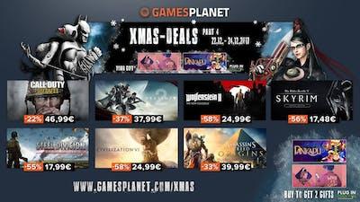 XMAS DEALS 4 ★ Zwei Spiele geschenkt + 10 Kauftipps aus über 250 Game Deals an diesem Wochenende