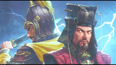 Cao Cao and Yuan Shao starting positions. Fates Divided DLC. Total War Three Kingdoms.