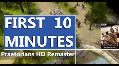 FIRST LOOK | Praetorians HD Remaster | HD GAMEPLAY