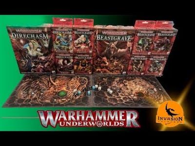 Warhammer Underworlds!! ¿Qué necesito comprarme? ¿Merece la pena este juego?