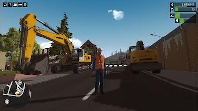 Liebherr A 918 & R 956 Excavators - Construction Simulator Deluxe Editon Gameplay