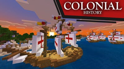 Colonial American History Portrayed by Minecraft