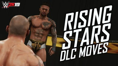 """WWE 2K19 ALL """"RISING STARS DLC"""" MOVES! (Every Move In The DLC Pack)"""