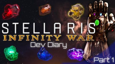 First look at Infinity Gauntlet mod for Stellaris: Ancient Relics