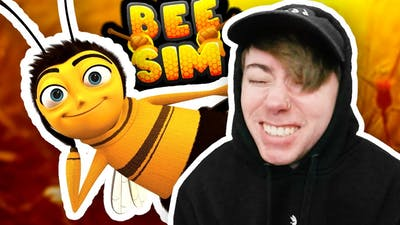 BEE SIMULATOR.. 🐝 (Roblox with Lonnie)