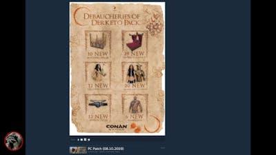 Conan Exiles Debaucheries of Derketo Pack Hot Do-Do!