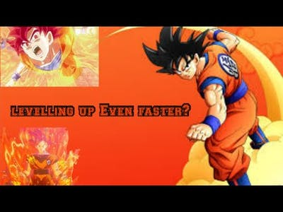Dragon ball z kakarot How to Level up A new faster way.