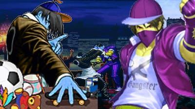 Mugen - Kid Iori Kusanagi vs. Gangster Kyo Yagami