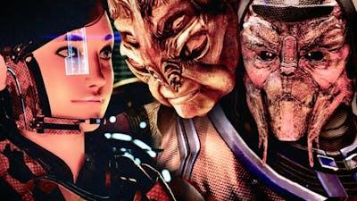 Mass Effect 2 Legendary Edition 23: Omega, Dossier Professor w/ Grunt & Kasumi. Sick Batarian