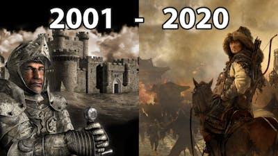 Evolution of Firefly Studios Games 2001 - 2020