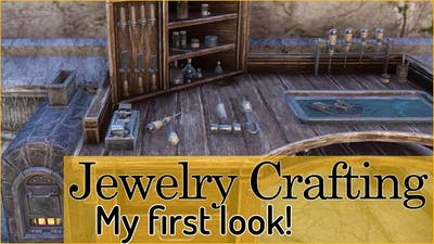 My first time checking out JEWELRY CRAFTING 😁 - Elder Scrolls Online: Summerset (PTS)