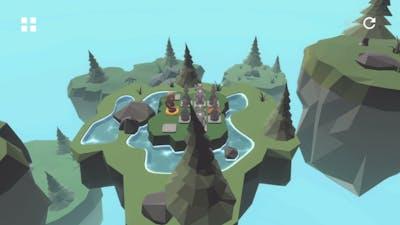 Knight's Retreat gameplay levels 1 - 16