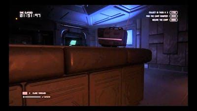 Alien Isolation Trauma DLC No Tracker challenge Overrun