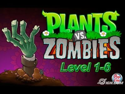 Plants vs. Zombies: Game of the Year | Level 1-6