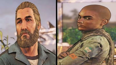 Tripp Vs Ava Scenes - The Walking Dead Game Season 3 Episode 5