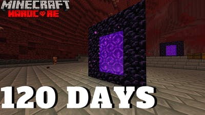 Portal to the Stronghold - 120 Days in Minecraft Hardcore