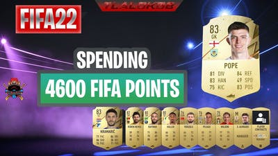 #FIFA22 Spending 4600 Fifa points on Gold Packs!!! #FUT22