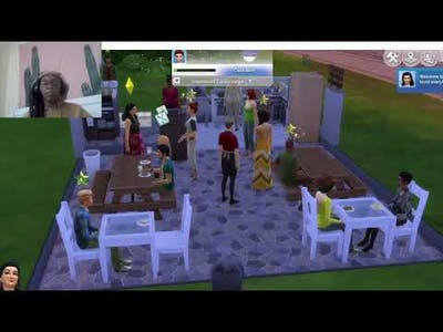 Sims 4 dine out series(pt.1)