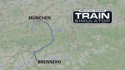 Train Simulator: München - Brennero Timelapse