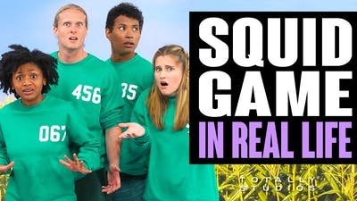 SQUID GAME in Real Life