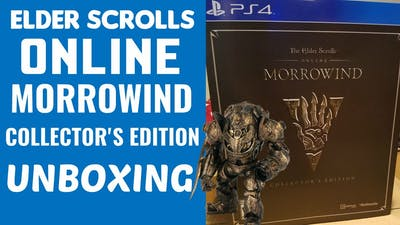 ESO MORROWIND COLLECTOR'S EDITION UNBOXING