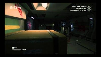 Alien Isolation Trauma DLC Reoperation no tracker challenge