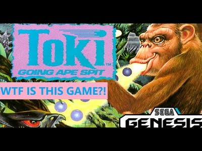 Toki Going Ape Spit: What is this game?!
