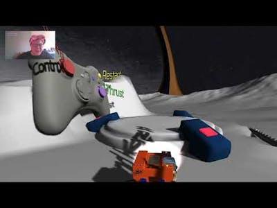 Crashed Lander - Outwit gravity, explore new worlds.