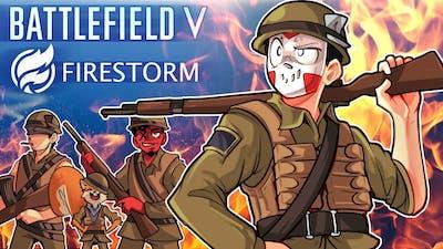 Battlefield V Firestorm - THIS IS WARRRR (Funny, Epic & Fail Moments)