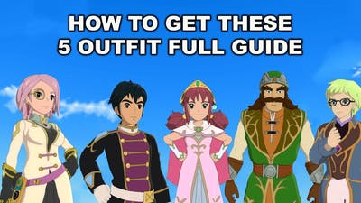 Ni No Kuni 2 - How To Get Last End 5 Outfits Full Guide