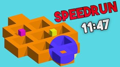 Speedrun Vectronom Tetromino% - 11min47s